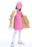 Girl jacket Royalty Free Stock Photos
