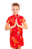 Girl in the Japanese style Royalty Free Stock Photo