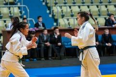 Girl judoka Stock Photo