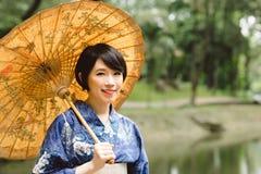 Girl in jukata Royalty Free Stock Image