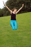 Girl Jump Stock Photos