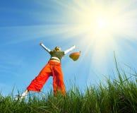 girl jump Стоковое фото RF
