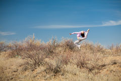 Girl jump Royalty Free Stock Photo
