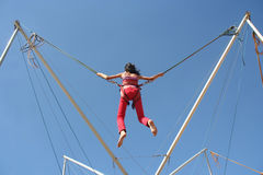 Girl Jumping Royalty Free Stock Photos