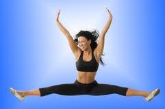 Girl jumping Royalty Free Stock Photo