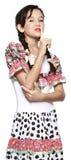 Girl for June festival Stock Photo