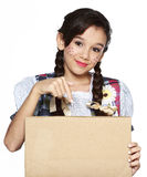 Girl for June festival Stock Photos