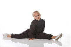 Girl - karateka Stock Photo