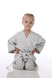 Girl - karateka Stock Photography