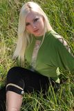 Girl in  Khersones Royalty Free Stock Photo