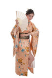 The girl in a kimono Royalty Free Stock Photo