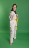 Girl in kimono Stock Photos