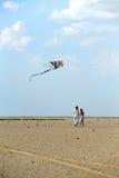 Girl with kite Royalty Free Stock Photo