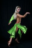 Girl latin dancer Stock Image