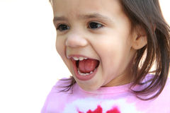Girl Laughing Royalty Free Stock Images