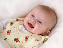 Girl laughing Royalty Free Stock Photo