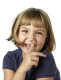 Girl laughing Royalty Free Stock Photos