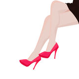 Girl Leg Royalty Free Stock Photos