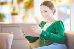 Girl at leisure Royalty Free Stock Photography
