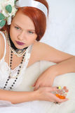 Girl in lingerie Royalty Free Stock Photography