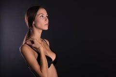 Girl in lingerie Royalty Free Stock Photo