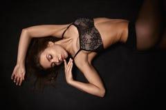 Girl in lingerie Stock Image