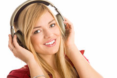 Free Girl Listening To Music Stock Images - 11448574