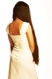 Girl with long hair Stock Photos