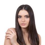 Girl with long hair. Royalty Free Stock Photos