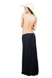 Girl in long skirt Royalty Free Stock Photography