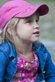 Girl Looking. The are looking for something Royalty Free Stock Photo
