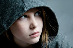 Girl looking away Royalty Free Stock Images