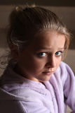 Girl looking at camera Royalty Free Stock Photos
