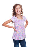 Girl looking at camera and smiling Royalty Free Stock Photo