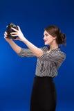Girl looking at the camera Royalty Free Stock Photography