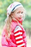 Girl looking over her shoulder Stock Photos