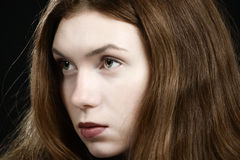 Girl looking Royalty Free Stock Images