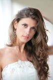 Girl with luxurious hair Stock Photos