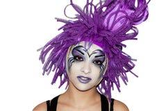 Girl make-up. Stock Photos