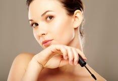 Girl with makeup Stock Photos