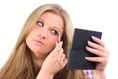 Girl makeup Royalty Free Stock Photography