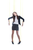 Girl-marionette Royalty Free Stock Photo