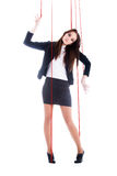 Girl-marionette Royalty Free Stock Photography