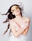 Girl in mask Stock Photos