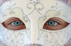 Girl in Mask Royalty Free Stock Images