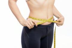 Girl meter Stock Image