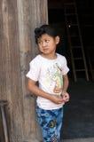 Girl Of Miao Minority Royalty Free Stock Photos