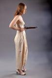 Girl musket Stock Image