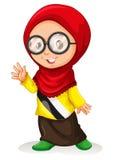 Girl in muslim attire Royalty Free Stock Photos
