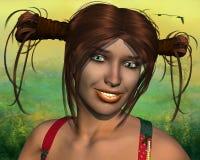 Girl named Acacia Royalty Free Stock Image